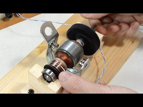 How DC motors and universal motors work - YouTube
