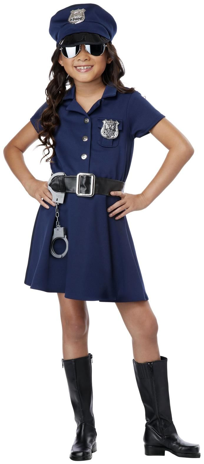PartyBell.com - Girl Police Officer #Costume