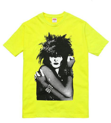 Supreme Re-Opens Web Shop with Siouxsie Sioux tees | The FADER