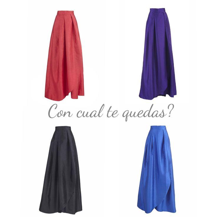 Faldas largas de Miticca by Isabella Gobarodi