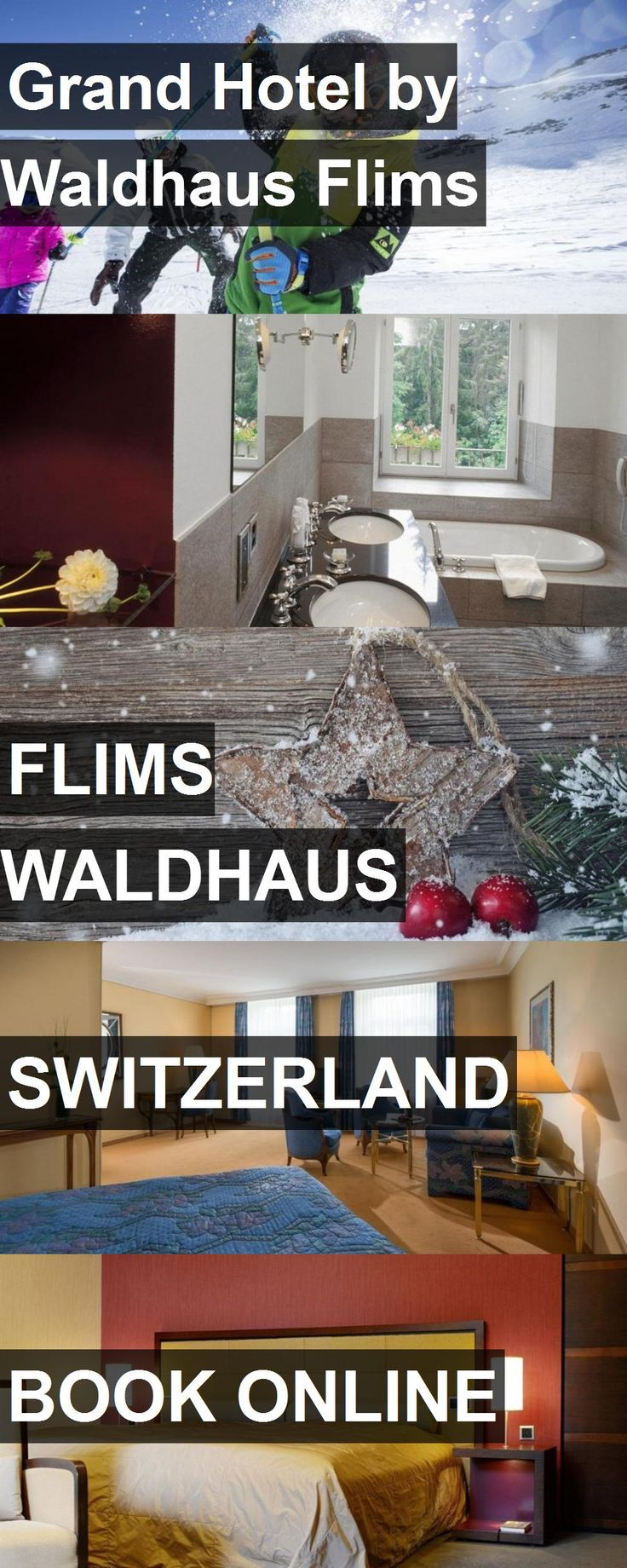 Grand Hotel by Waldhaus Flims in Flims Waldhaus, Switzerland. For more information, photos, reviews and best prices please follow the link. #Switzerland #FlimsWaldhaus #travel #vacation #hotel