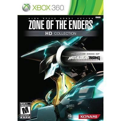 Zone of the Enders HD Collection (Microsoft Xbox 360, 2012)