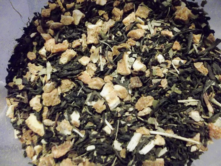 Assam Organic Black Tea Herbal Blend, A Great Alternative to Coffee, Natural Energy Organic Black Tea, Yerba Mate and Orange Peel 1 oz by HerbsforLivingLife on Etsy