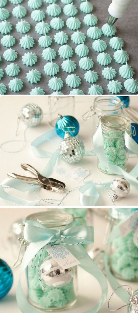 Cream Cheese Mints   Edible Gift Idea. I will be making these at Christmas time, they look amazing and easy to make! Perfect holiday treat.