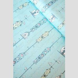 Bird Cages -  Feather n Stitch - Sarah Watts - Blend Fabrics