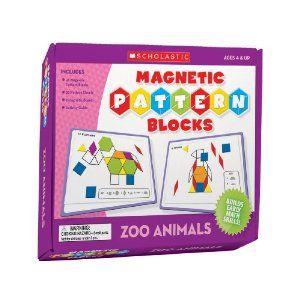 Magnetic Pattern Blocks: Zoo Animals: Amazon.ca: Scholastic Inc: Books 15