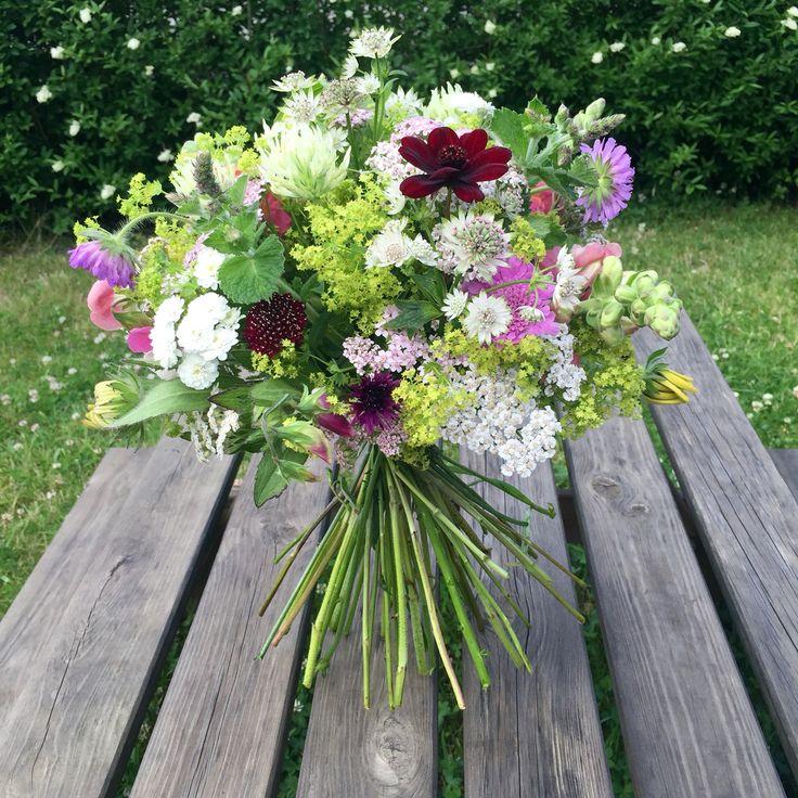 Big organic bouquet - June 2016