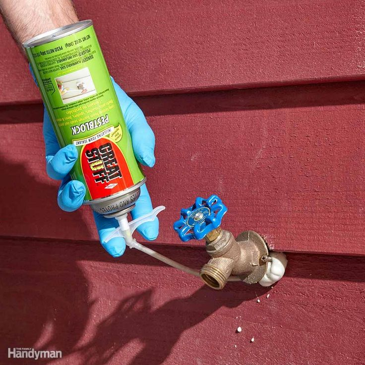 Stop Drafts—and Mice! - Plugging holes on the exterior of your house with foam is a great way to stop air infiltration, but it may not keep out pests. Mice can and will chew right through regular expanding foam, but there are formulas that stop insects and rodents. So the next time you plug exterior holes, choose foam labeled to resist pests.
