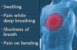 Bruised ribs, rib fractures, and rib cartilage injuries could occur due to falls, accidents, or blunt force trauma to the chest. If a person suffers from a bruised rib, he/she is most likely to experience pain while breathing or flexing the torso. The following write-up provides information on bruised ribs symptoms and the treatment options.