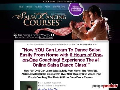 awesome #SalsaDancingCourse™ - The #1 Home Salsa Class With 6 Hours of Salsa Videos That Guarantees Results!