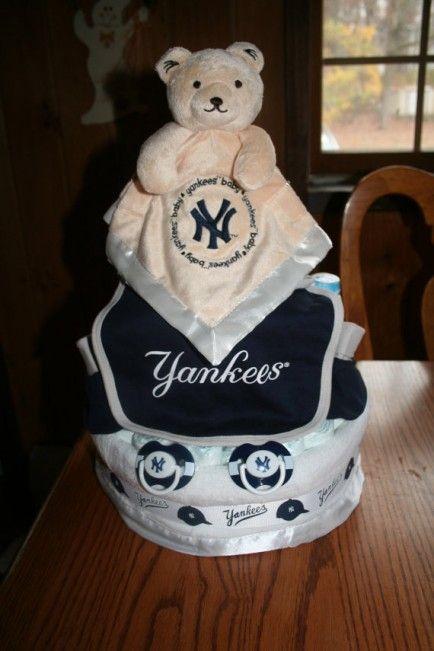 New York Yankees Baby Shower Teddy Bear Baby Shower