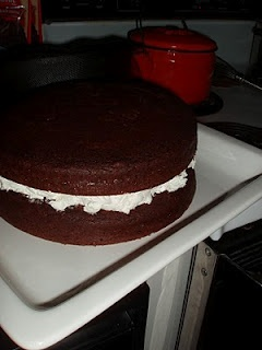 How to make a Moon Pie Cake Tutorial | Yummy for the tummy | Pinterest