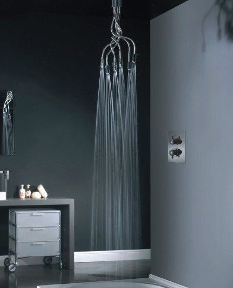 Creative shower head design
