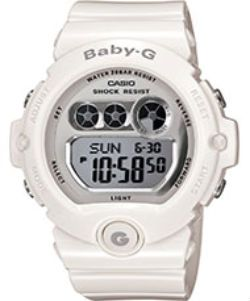 Casio Baby G Watch with 200m Water Resistance Casio Baby G Watch with 200m Water Resistance Taking a cue from the boys, Baby-G introduces the BG6900 collection that finds inspiration from the Casio G-Shock DW6900 watch collection. A play on all t http://www.MightGet.com/february-2017-1/casio-baby-g-watch-with-200m-water-resistance.asp