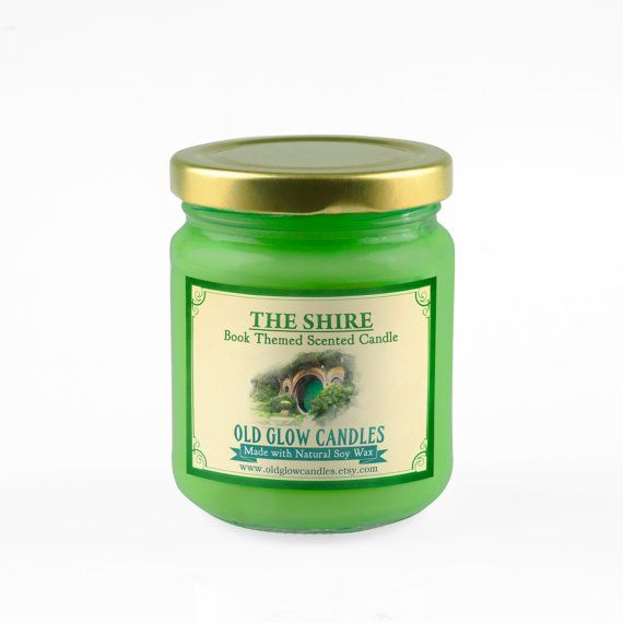 The Shire Scented Soy Candle by OldGlowCandles on Etsy