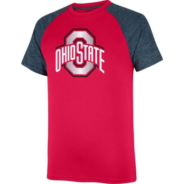 Scarlet & Gray Men's Ohio State Buckeyes Scarlet/Gray Contender T-Shirt, Size: Medium, Team