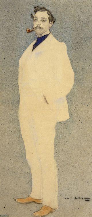 Antoni Utrillo // Ramon Casas (Catalan-Spanish 1866-1932)
