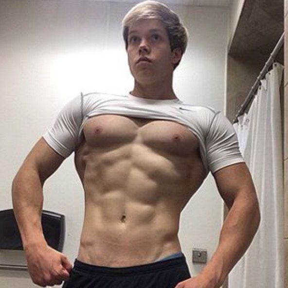gay muscle young