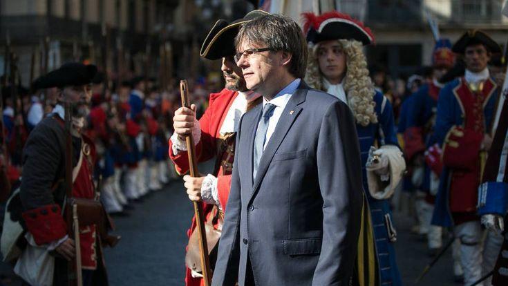 Diada: Puigdemont planteará este mes una propuesta de referéndum al Estado…