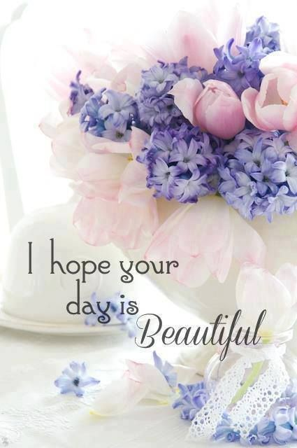 I hope your day is beautiful!
