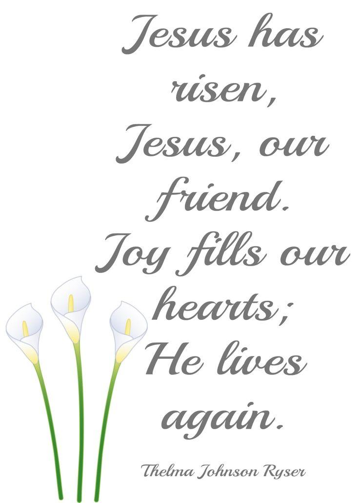 Lyric risen lyrics : Best 25+ Jesus has risen ideas on Pinterest | He is risen quotes ...