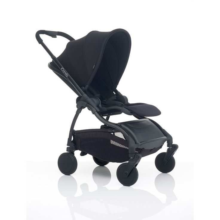 iCandy Raspberry Stroller Black Chassis - with black ...