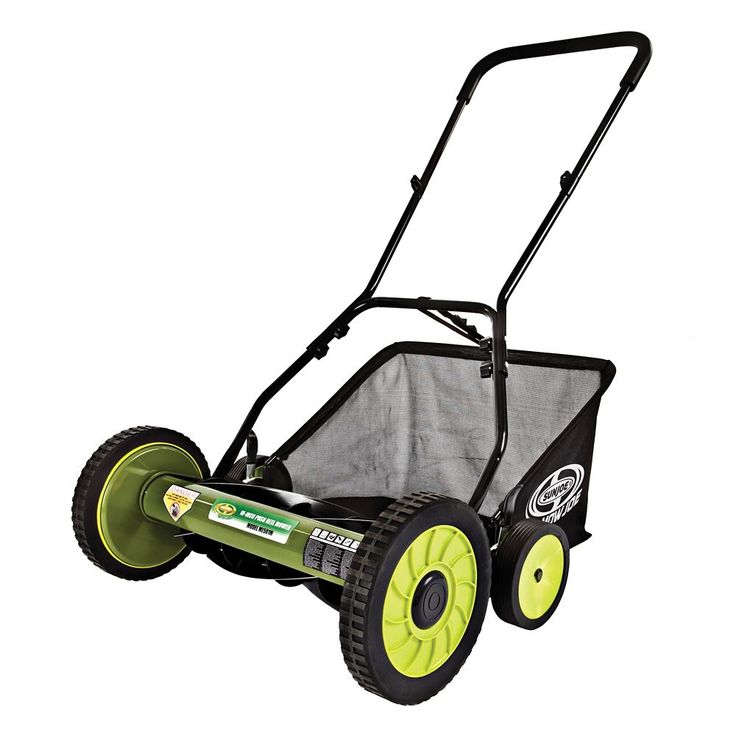 The 25 best manual lawn mower ideas on pinterest tennis play mow joe 18 inch manual reel lawn mower with grass catcher fandeluxe Images