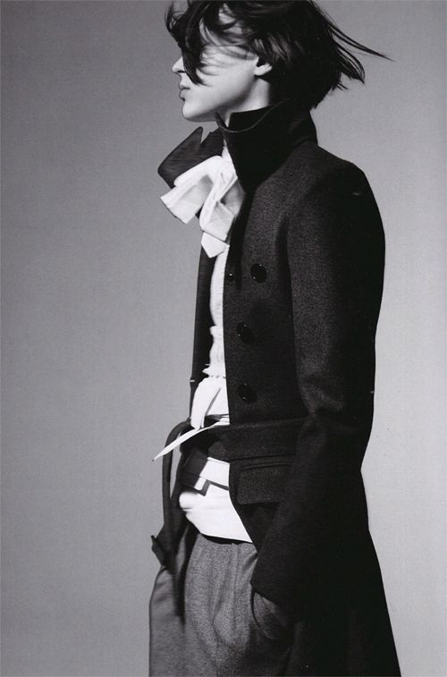 Dior Homme 06/07 photographed by Craig McDean for Arena Homme+, June 2006 V