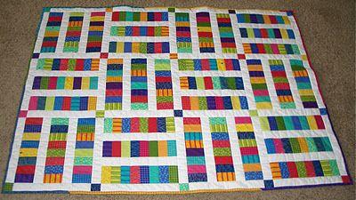 variation of sugar pop n change quilt - original pattern here: http://www.modabakeshop.com/2010/12/sugar-pop-n-change-quilt.html