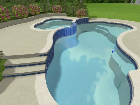 Pool Design Plans Advanced Pool