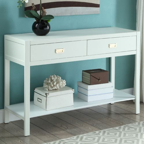 Found it at Wayfair - Peggy Console Table