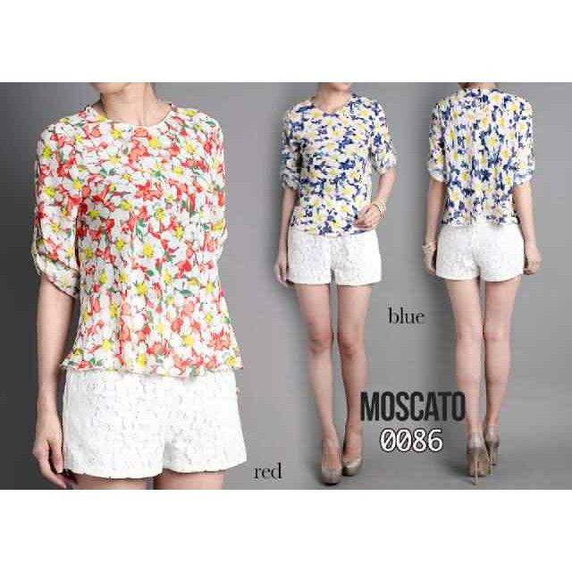 Temukan dan dapatkan MOSCATO 0086 Blouse / Atasan Wanita / Motif Bunga hanya Rp 158.000 di Shopee sekarang juga! http://shopee.co.id/image_boutique/209418776 #ShopeeID