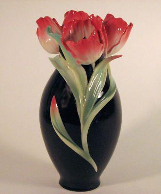 Franz vase - porcelain tulip vase