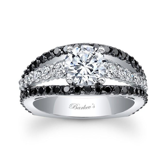 1000+ images about Black Diamond Engagement Rings on ...  1000+ images ab...