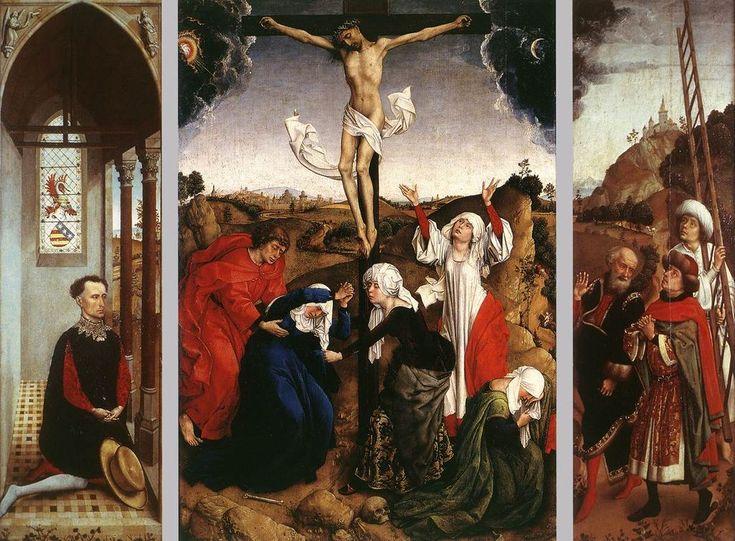 Rogier van der Weyden (1399 — 1464).  Распятие.