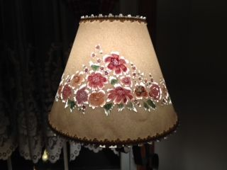 Watercolor Clip On Cut And Pierced Lampshades. Watercolors Donu0027t Show Until  Light