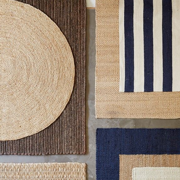 Abaca Flatweave Rug, 6' X 9', Natural; natural bordered rug; nantucket stripe natural rug; natural braided round rug; abaca rug