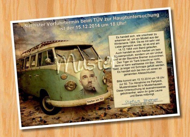 Einladungskarten Fotokarten Geburtstag Originell