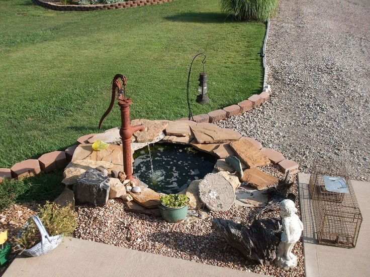 This last winter after looking all over the web I came across a picture. It was one of using a old tractor tire for a pond. I had just the place for one of my o…