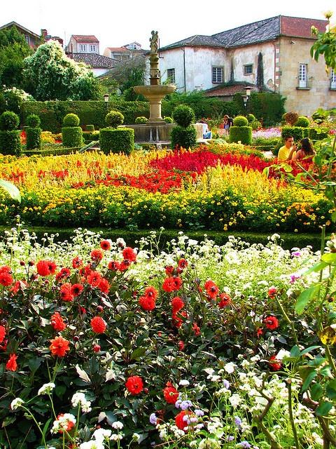 Jardim de Santa Bárbara  Braga  Portugal