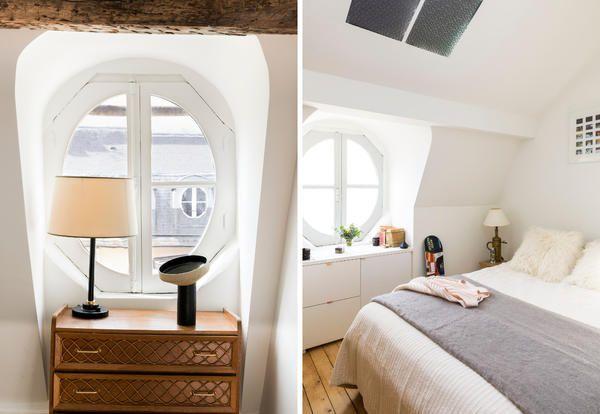 Benvenuti a casa di Zoe Le Ber in un'appartamento dal fascino antico e dallo spirito cosmopolita firmato Sophie Dries