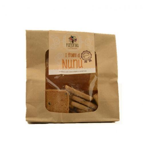 I frollini di Nunù al cioccolato e arancia €3,50  http://www.nelsonsicily.com/dettaglio/frollini-di-nunu-cioccolato-e-arancia