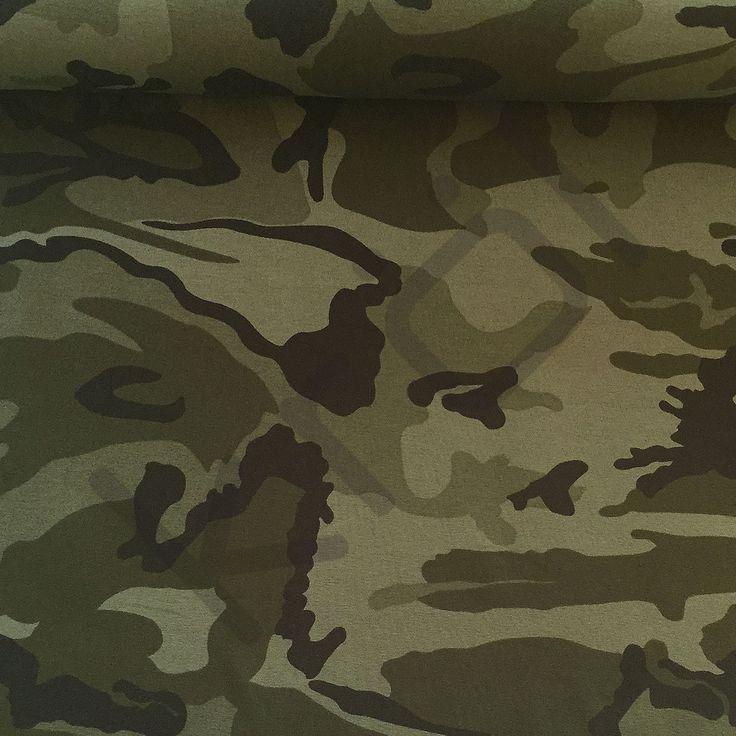 Jersey, army print