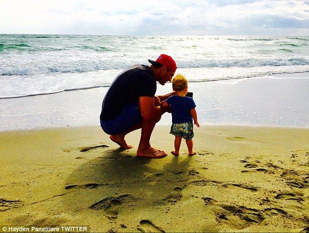'The loves of my life': Hayden Panettiere posted a sweet photo of her fiancé Wladimir Klit...