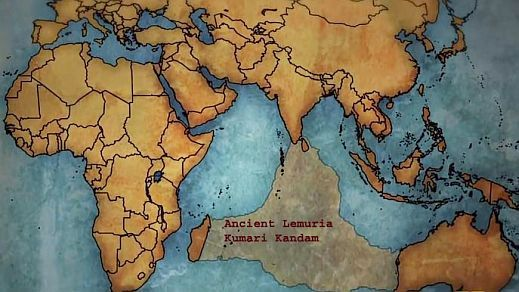 kumari kandam or lemuria continent map-http://booksfact.com/mysteries/lemuria-continent-kumari-kandam-ancient-tamil-kingdom-facts.html
