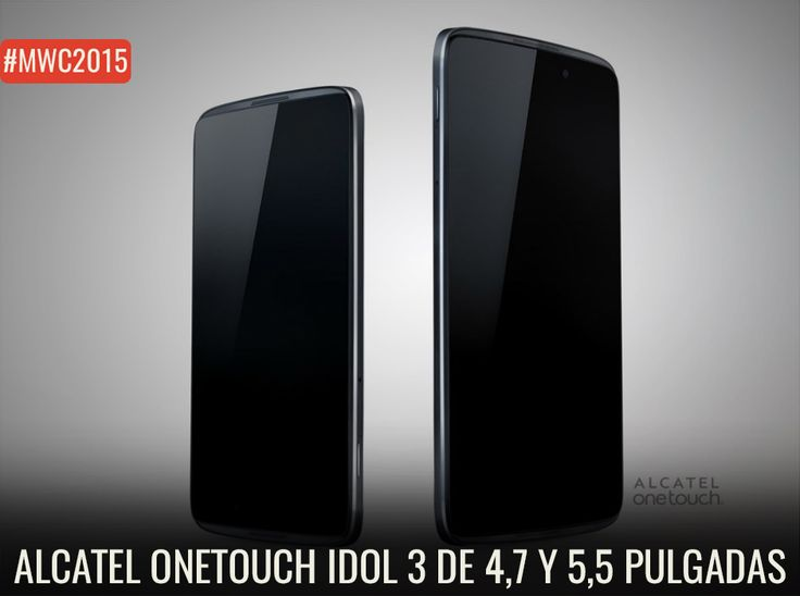 ¿Un smartphone reversible? Así es la nueva propuesta de Alcatel One Touch. http://www.enter.co/eventos/mwc/2015/conoce-el-smartphone-reversible-alcatel-onetouch-idol-3/