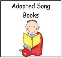 Adapted Song Books : File Folder Games at File Folder Heaven - Printable, hands-on fun!