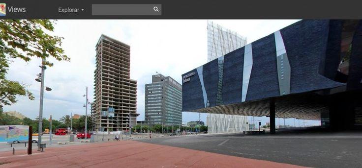 Visita virtual al parc del Forum de Barcelona