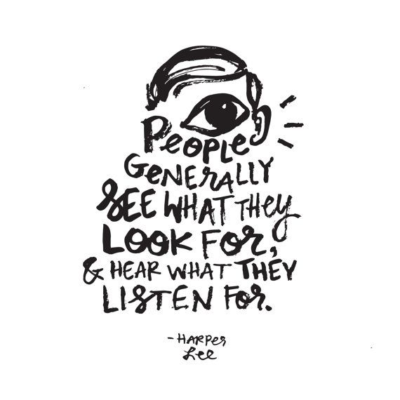 Harper Lee Quote // Original Artwork // Digital by AllisonSabrie