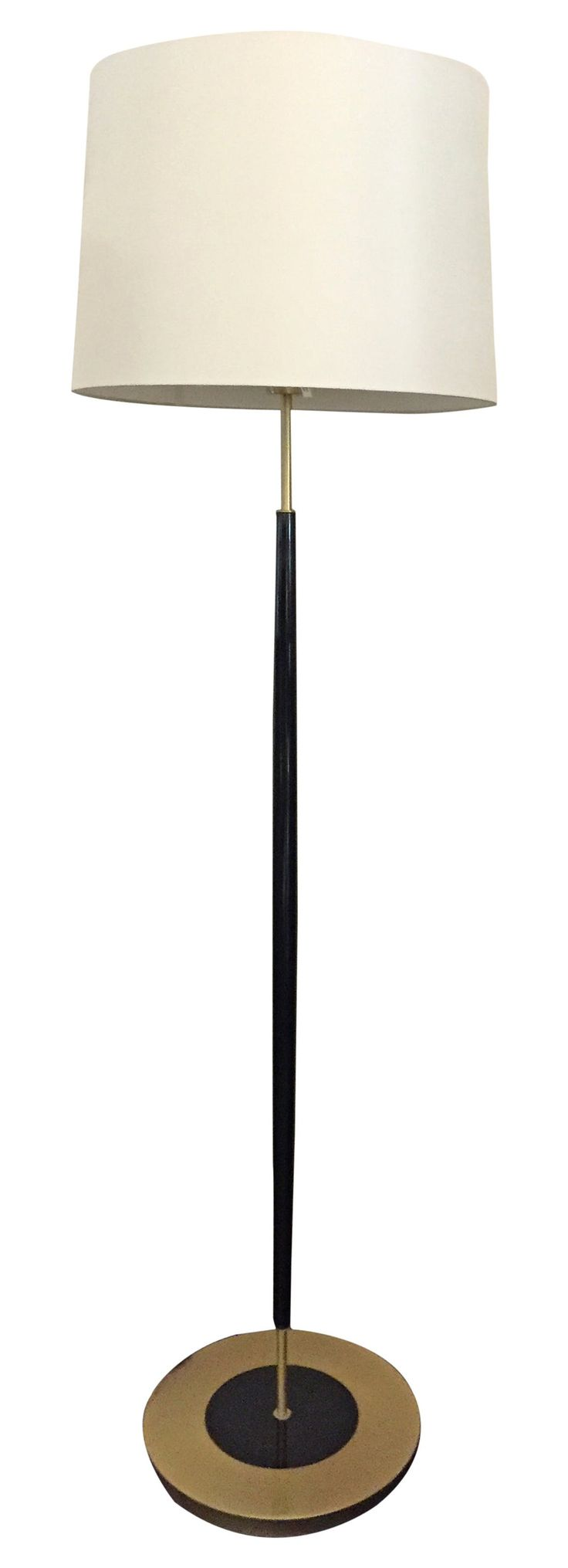 Buy ZOE FLOOR LAMP IN BLACK by Birgit Israel - Made-to-Order designer Lighting from Dering Hall's collection of Art Deco Contemporary Transitional Floor Lamps.